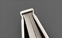 cabezada negra - acabado para libro de tapa dura en proprintweb