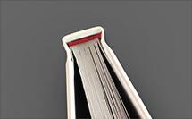 cabezada roja - acabado para libro de tapa dura en proprintweb