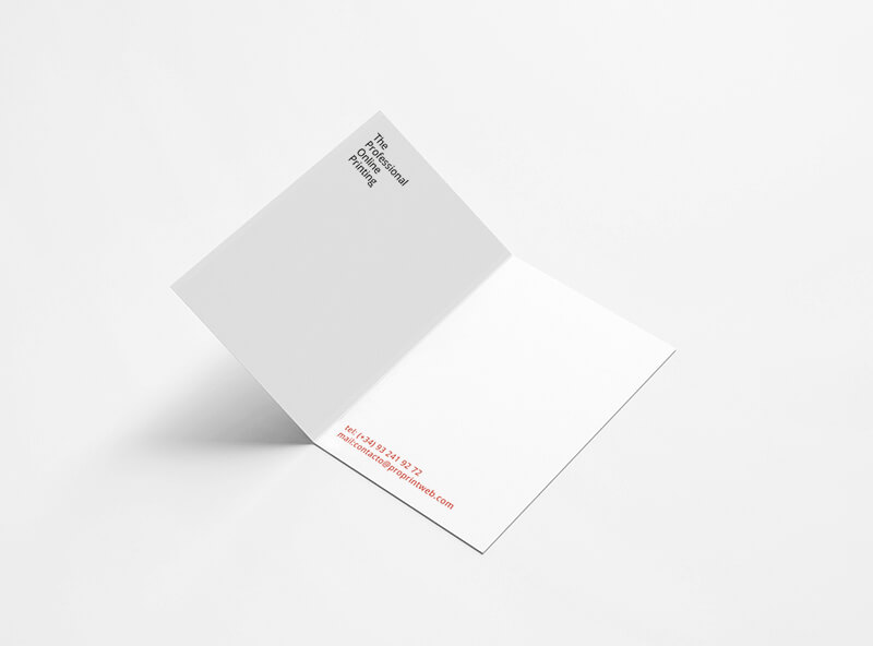 tarjeta de visita doble dorso proprintweb