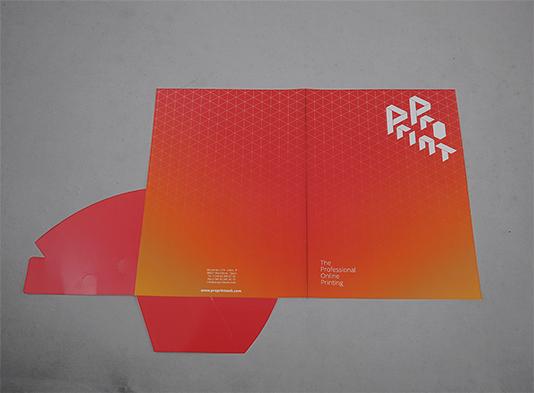 Imprenta de carpeta-A4-con-troquel-automontable sin lomo - ProPrintweb