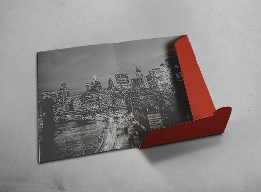 Impresión Carpeta con lomo y solapa automontable 220x316 - ProPrintweb