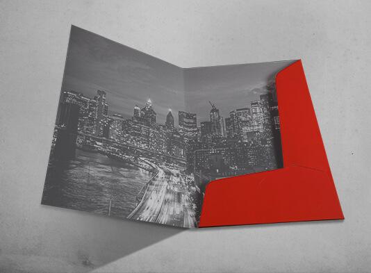 Imprimir Carpeta impresa con lomo y bolsillo automontable - ProPrintweb