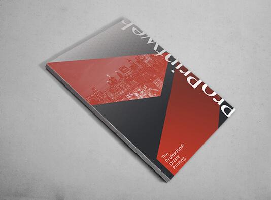 Carpeta para Din-A4 con lomo y bolsillo encolado portada - ProPrintweb