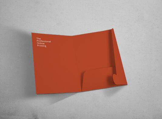 Carpeta personalizada para Din-A5 con solapa y sin lomo - ProPrintweb
