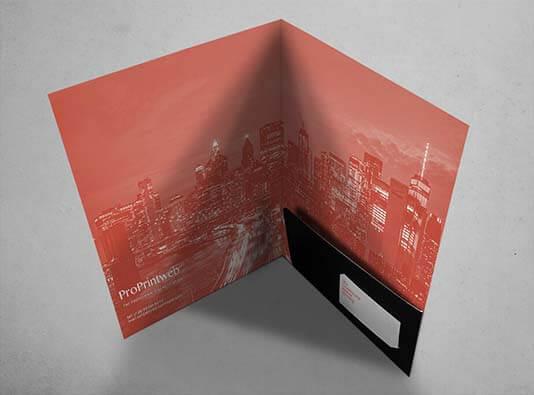 Imprimir carpeta sin lomo y solapa encolada - ProPrintweb