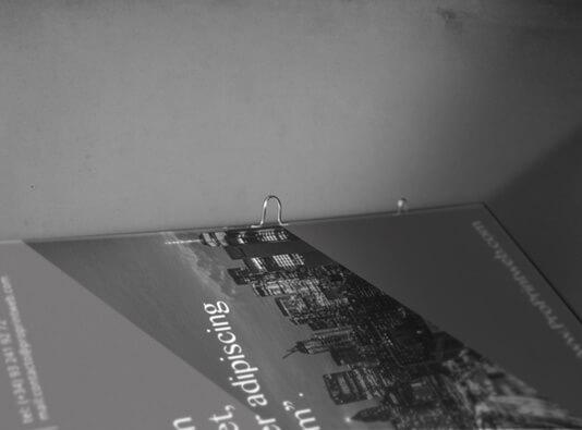 Imprenta de catalogo con grapa omega para clasificar - detalle ProPrintweb
