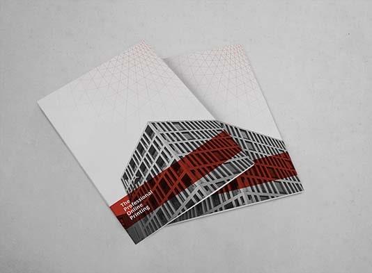 Imprenta de Cuadriptico-plegado-en-acordeón cerrado - ProPrintweb
