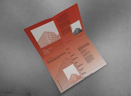 Impresión cuadriptico-plegado-en-cruz  abierto - ProPrintweb