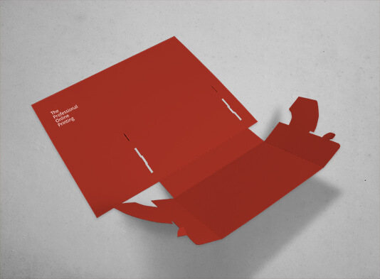 Expositor folletos Din-A5 automontable de cartón - ProPrintweb