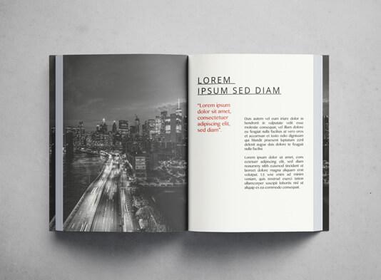 Impresión de un libro Flexibook paginas interiores - ProPrintweb
