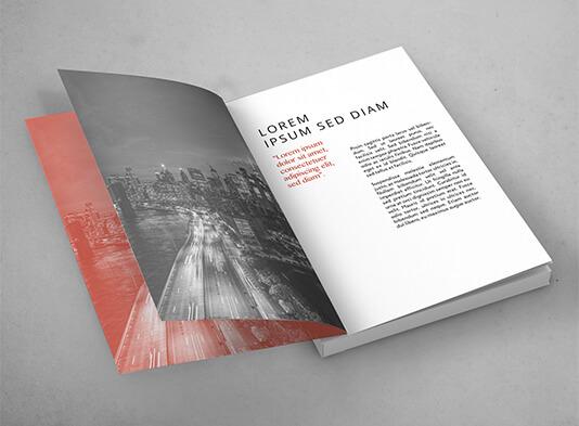 Impresión catálogo tapa blanda cosido paginas interiores - ProPrintweb