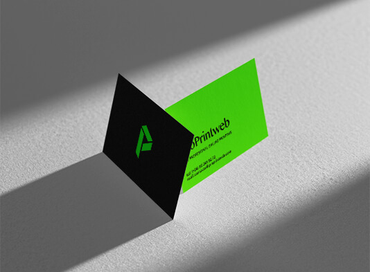 Imprimir tarjetas de visita personalizadas en tintas directas - ProPrintweb