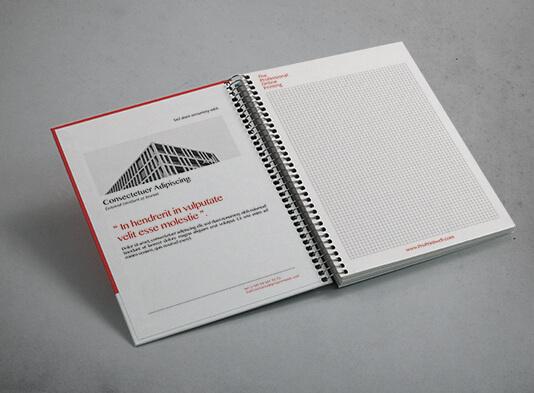 Imprimir Libretas tapa rígida cartón corporativas - interior - ProPrintweb