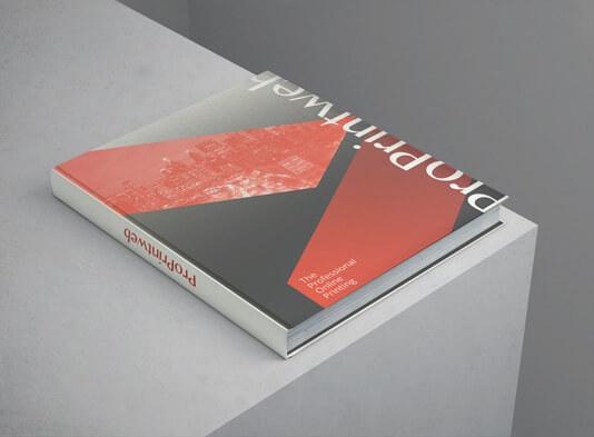 Libro Tapa Dura cerrado impreso online - ProPrintweb
