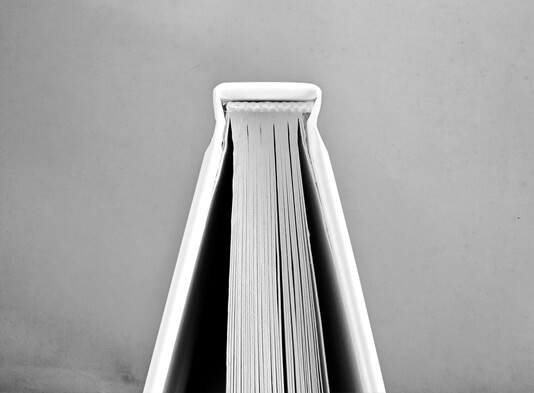 Imprenta libro Tapa Dura con detalle cabezada