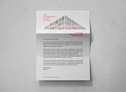 Impresión de Papel-de-carta-premium personalizado - ProPrintweb