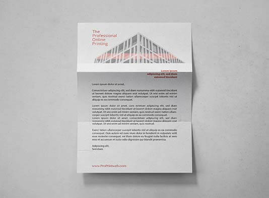 papel de carta premium proprintweb