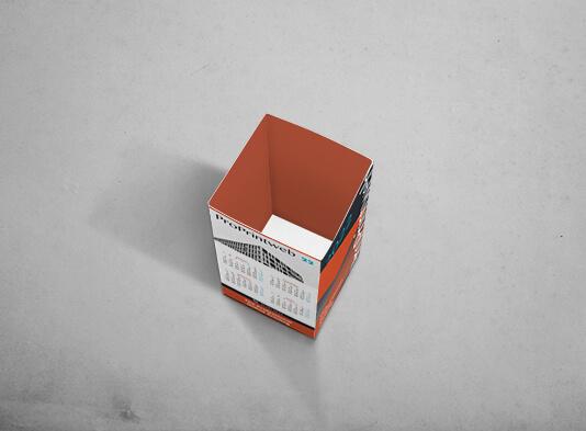 Imprimir portalápices automontable cuadrado (70 x 70 x 120 mm)