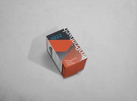 Portalápices automontable cuadrado (7x7x 12 cm) de cartón