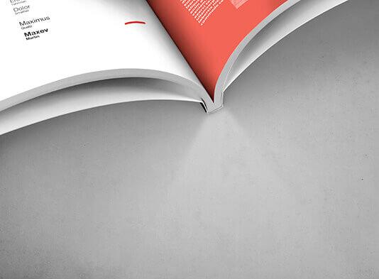 Imprenta de revistas encoladas lomo detalle - ProPrintweb
