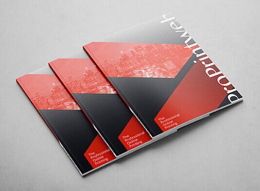 Imprimir revista encolada con lomo - portada frontal ProPrintweb