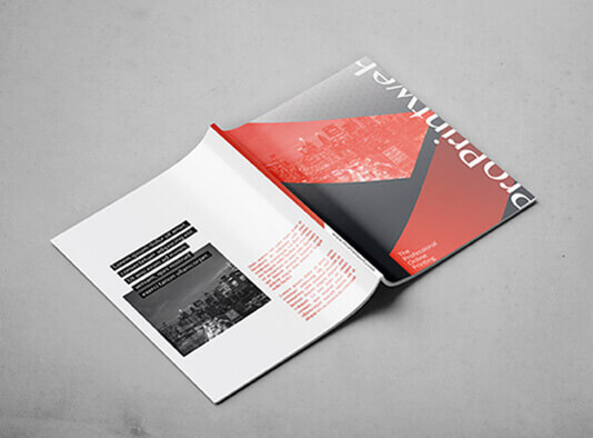 revista encolada abierta portadas proprintweb
