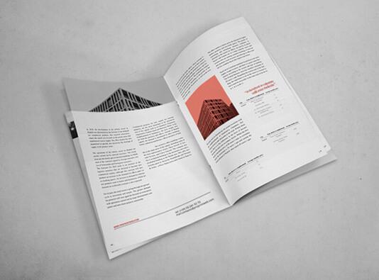 Impresión de revista express grapada interior - Plazo 2-3 dias
