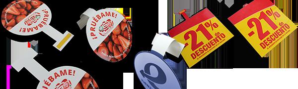 Stoopers personalizados punto de venta