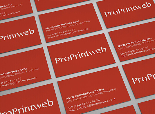 Imprimir Tarjetas-de-visita-estándar - ProPrintweb