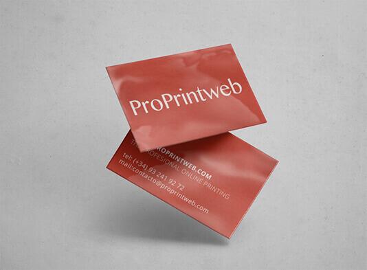 tarjeta de visita plastificada proprintweb