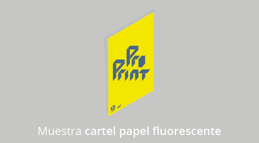 carteles papel fluorescente 04