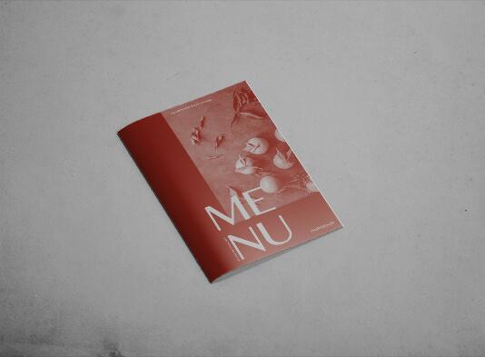 impresión de cartas gastronomicas grapadas - ProPrintweb