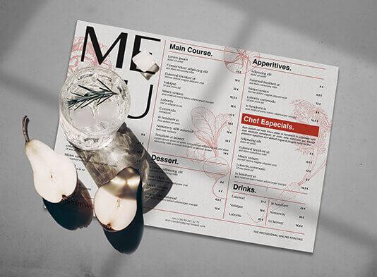 Imprimir manteles de papel personalizados en ProPrintweb