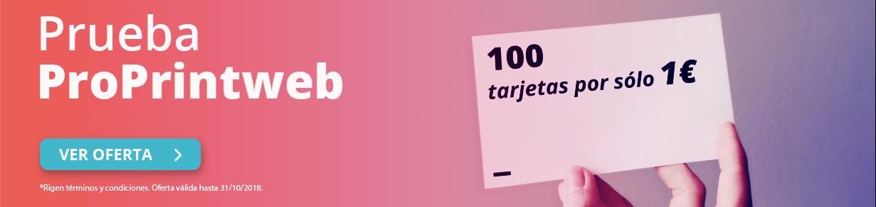 Imprimir Tarjeta promoción 1 EUR