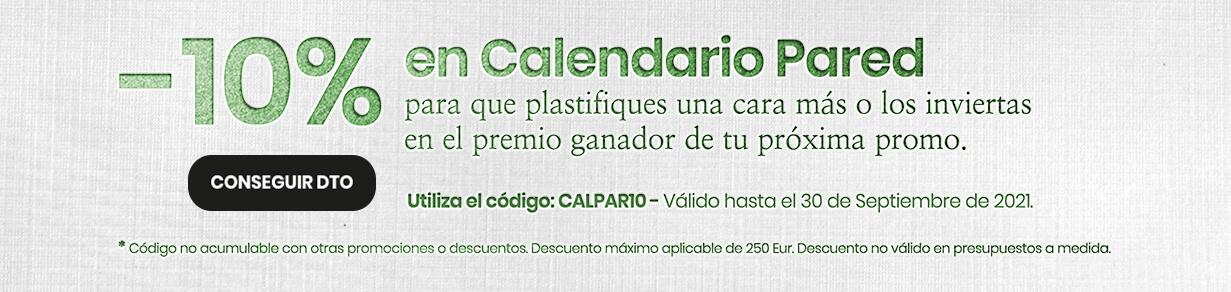 Imprimir calendarios pared 10Dto hasta 31 Setiembre