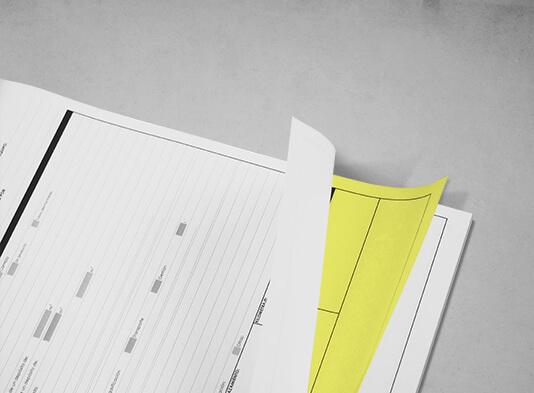 Imprimir talonarios autocopiativos personalizados - ProPrintweb