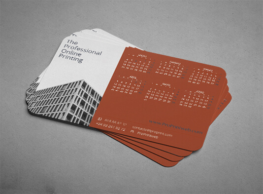 Imprimir calendario bolsillo personalizado - ProPrintweb