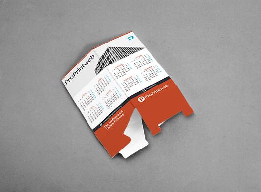 Calendario portalápices cuadrado automontable plano - ProPrintweb