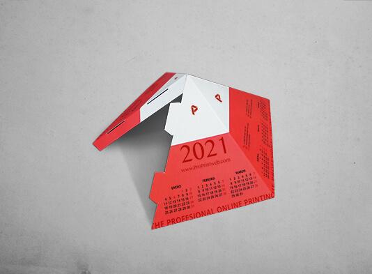 Imprenta de Calendario_Piramide_automontable - ProPrintweb