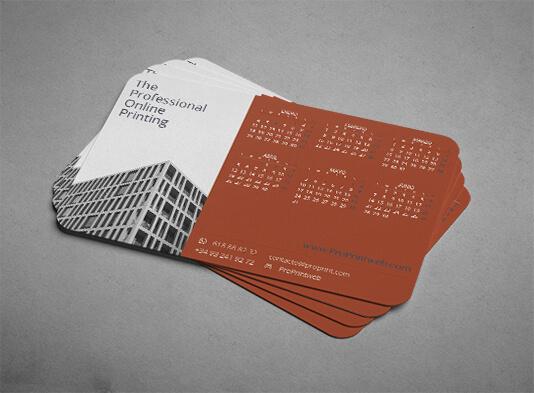 Calendario bolsillo personalizado impreso en ProPrintweb