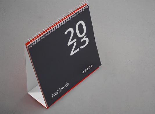 Imprimir Calendarios-de-mesa-con-espiral-continuo-blanco - ProPrinwteb