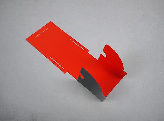Imprenta de Expositores portafolletos cartón automontable - ProPrintweb