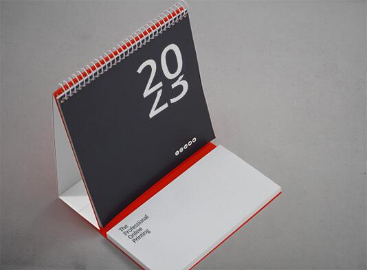 Imprimir calendario espiralado con bloc de notas - ProPrintweb
