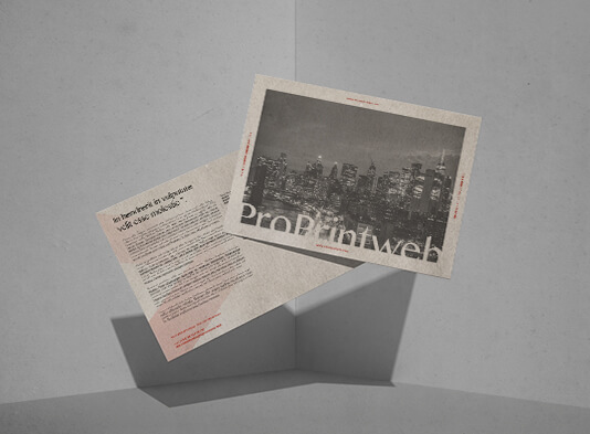 Imprimir postales personalizadas 100% - ProPrintweb
