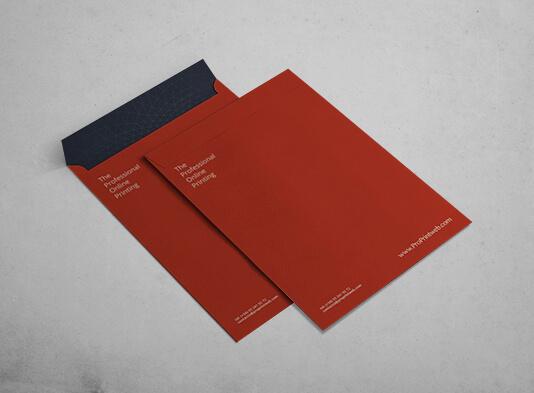 impresión de sobre papel para Din-A4 - 100% personalizable - ProPrintweb