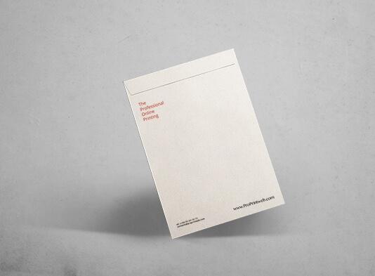 Bolsa de papel o sobres a4 impresos - ProPrintweb