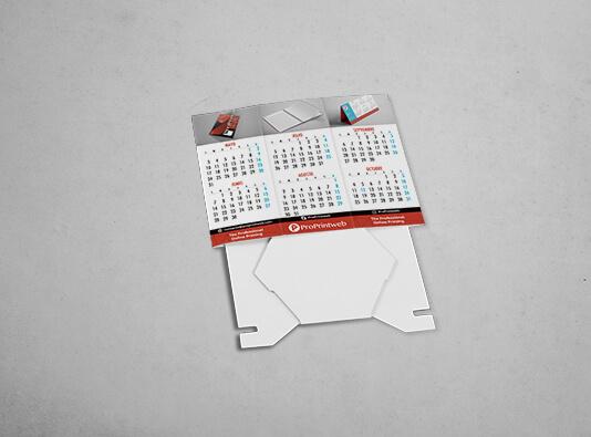 Imprenta de calendarios portabolis hexagonal - ProPritnweb