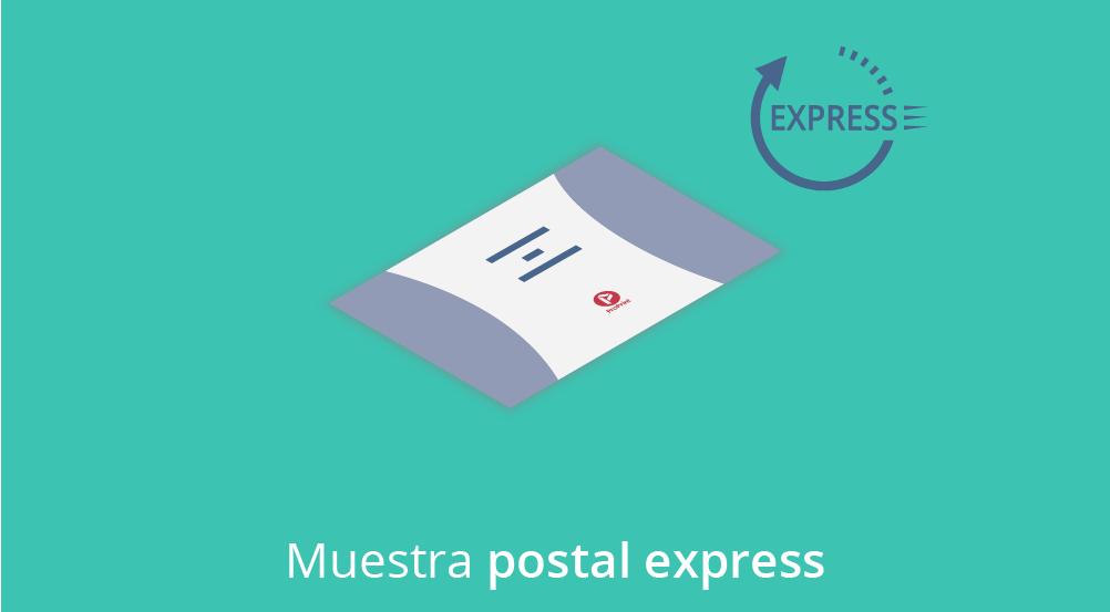 descuento postales express