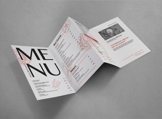 imprimir cartas restaurante plegada 4 palas - ProPrintweb