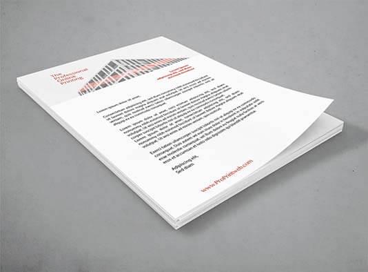 Papel-de-carta-corporativo inicio negocio - ProPrintweb